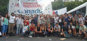 Histórica marcha de unidad frente al ajuste