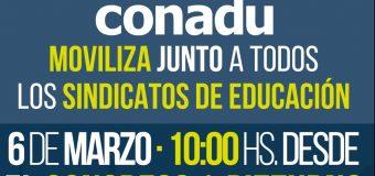 JORNADAS DE PROTESTA Y MOVILIZACIÓN 6, 7 y 8