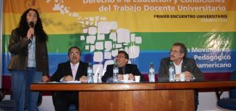 Finalizó el Primer Encuentro Universitario hacia el Movimiento Pedagógico Latinoamericano