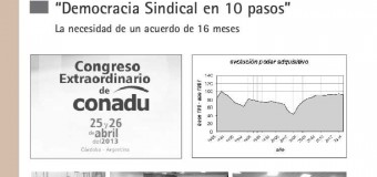 """Democracia Sindical en 10 pasos"""
