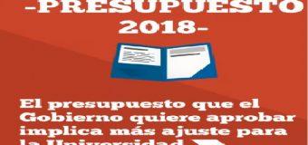 La CONADU exige al Senado 9700 millones para el presupuesto Universitario en 2018
