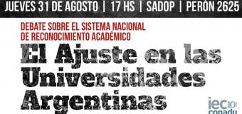 El ajuste en las universidades argentinas