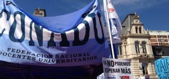 Conferencia de prensa y radio abierta en Pizzurno: nuevas medidas de fuerza frente al ajuste en la universidad