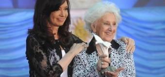 CONADU celebra la recuperación del nieto de Estela de Carlotto