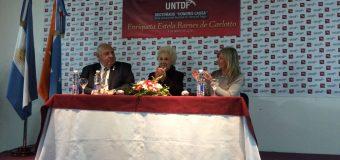 La UNTDF otorgó el Doctorado Honoris Causa a Estela Barnes de Carlotto