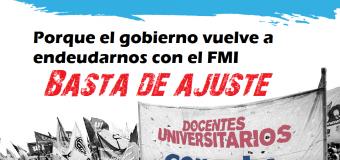 La CONADU profundiza el plan de lucha con una marcha a Plaza de Mayo