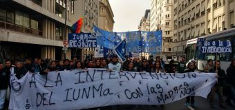 CONADU contra la intervención del IUNMA. Con las Madres, NO.