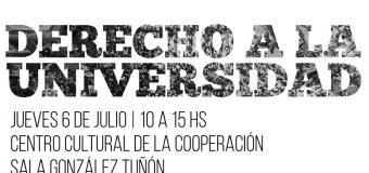 Foro de debate público: el capítulo universitario del Plan Maestro