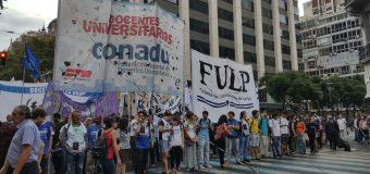 CONADU convoca a la unidad de acción para profundizar las medidas de fuerza