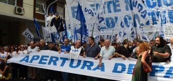 CONADU en la multitudinaria marcha en defensa de la educación