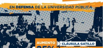 48 horas de paro nacional en las universidades, por aumento salarial y mayor presupuesto