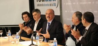 Tomada celebró la firma del CCT con CONADU y con FEDUBA