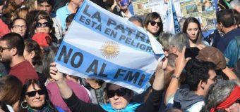Carta del movimiento popular argentino a Lagarde, en rechazo al acuerdo con el FMI