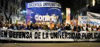 Jueves 16 Paro y movilización: la universidad marcha a Plaza de Mayo
