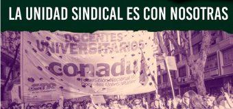 8M: las docentes universitarias sindicalizadas PARAMOS y MOVILIZAMOS