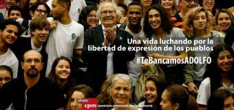 CONADU manifiesta su apoyo y solidaridad a Adolfo Pérez Esquivel