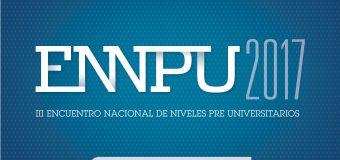 III Encuentro Nacional de Niveles Pre Universitarios