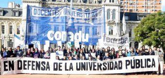 La CONADU tomó las universidades a 100 años de la Reforma