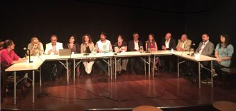 CONADU en la conferencia de prensa en el CCC en defensa de la Universidad y el sistema científico.