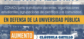 PARITARIAS: la SPU realizó una impresentable propuesta que agudiza el conflicto en las universidades