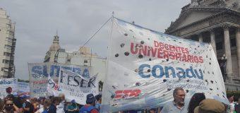 Sin perspectiva en paritaria 2018, el Congreso Extraordinario de CONADU definirá plan de lucha