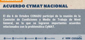 Acuerdo CyMAT Nacional