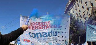 CONADU aprobó la propuesta salarial y ratifica el Paro General del 29 de mayo