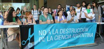 Contra el ajuste en Ciencia y Tecnología