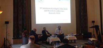 CONADU presente en la 9na Conferencia Mundial de Educación Superior e Investigación de la IE