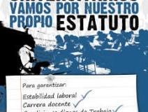 Histórico: docentes universitarios acuerdan capítulo de Carrera Docente del convenio colectivo