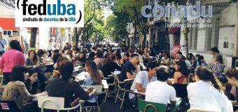 FEDUBA REALIZA 100 CLASES PÚBLICAS EN LA UBA