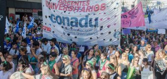LA UNIDAD POPULAR, LA ORGANIZACIÓN Y LA LUCHA SON CON NOSOTRAS. Las trabajadoras docentes de las Universidades Nacionales en el Paro Internacional Feminista