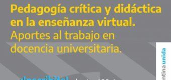 Récord de inscripción en el curso de formación virtual organizado por INFoD con el apoyo activo de CONADU