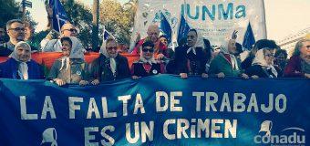 CONADU junto a las Madres de Plaza de Mayo, en sus 40 años de lucha.