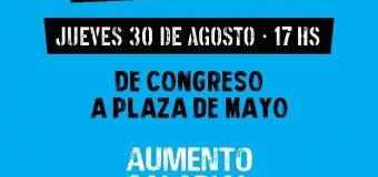 Unidad sin precedentes para la marcha universitaria a Plaza de Mayo