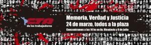 A 37 años, el reclamo sigue vivo: Memoria, Verdad y Justicia