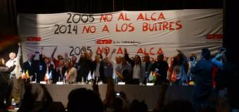 Ayer NO al ALCA. Hoy, NO a los buitres