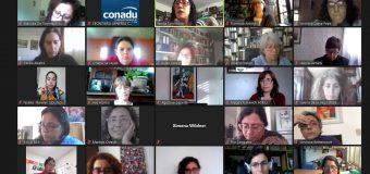 Reunión virtual de la Colectiva de Mujeres