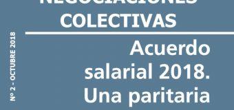 Una paritaria contra el FMI: Acuerdo salarial 2018.