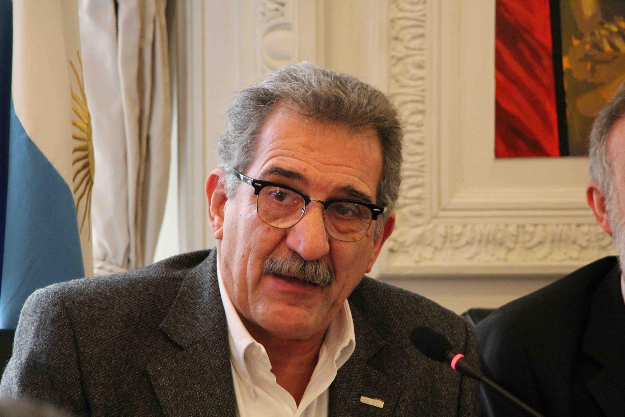 Carlos De Feo, Secretario de Relaciones Internacionales de CONADU