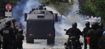 CONADU repudia la represión a la movilización contra el presupuesto de ajuste del FMI