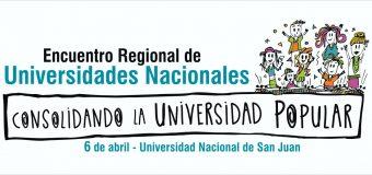 """Encuentro Regional de Universidades Nacionales: """"Consolidando la universidad popular"""""""