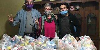 """El trabajo articulado de la campaña """"Universitarixs y Científicxs Solidarixs"""" benefició a más de 150 familias en Santiago del Estero"""