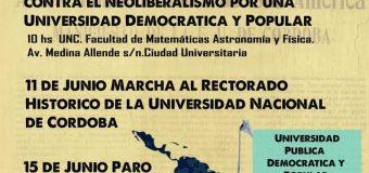 CONADU en lucha a 100 años de la Reforma Universitaria