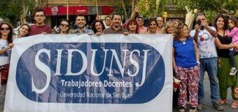 SiDUNSJ-CONADU DENUNCIA CESANTÍAS EN LA FACULTAD DE FILOSOFÍA Y LOGRA REANUDACIÓN DE LA PARITARIA LOCAL