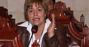 Fuerte reclamo de protección a la senadora Gloria Inés Ramírez