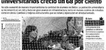 """""""Lanzan becas para docentes universitarios de todo el país"""", nota en Tiempo Argentino"""
