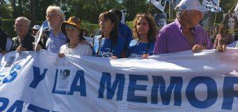 CONADU en la Marcha y Acto en Campo de Mayo